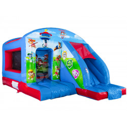 Paw Patrol Bouncy Castle Con Tobogan