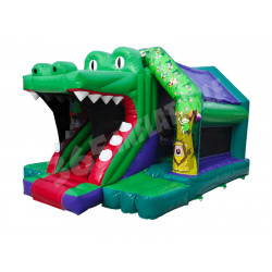 Castillo Hinchable Croco Slide