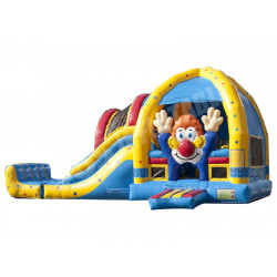 Payaso Bounce House Con Tobogan