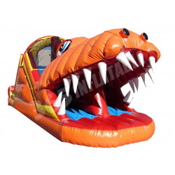Happy Jump Gator Tobogan Inflable