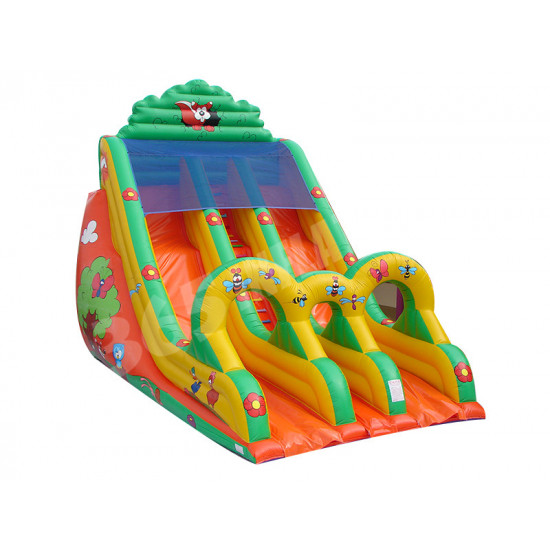 Double A Bosse Toboggan Inflatable