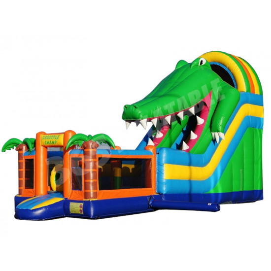 Tobogan De Cocodrilo Inflable Multiplay