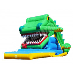 Cocodrilo Snappy Tobogan Inflable
