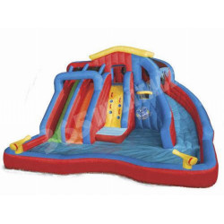 Piscina Inflable Y Tobogan