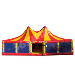 Acrobat Circus Inflable Cubierto