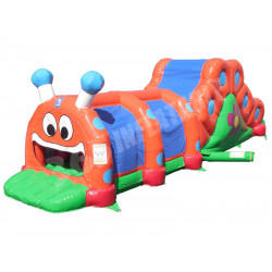 Caterpillar Inflable Con Tobogan