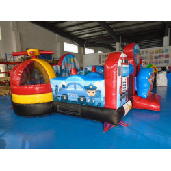 Escuadrón De Rescate Inflable Junior Bounce House