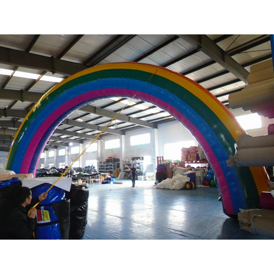 Arco Inflable Del Arco Iris